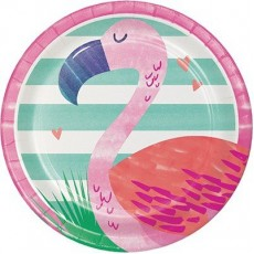 Pineapple N Friends Flamingo Lunch Plates Pack of 8