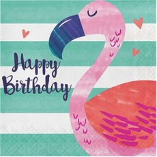 Pineapple N Friends Happy Birthday to You! Lunch Napkins Pack of 16