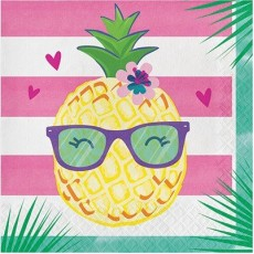 Pineapple N Friends Lunch Napkins