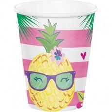 Pineapple N Friends Paper Cups Pack of 8