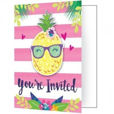 Pineapple N Friends Invitations
