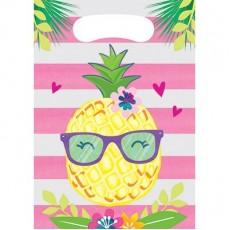 Pineapple N Friends Loot Favour Bags Pack of 8