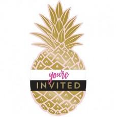 Bridal Shower Pineapple Wedding Invitations