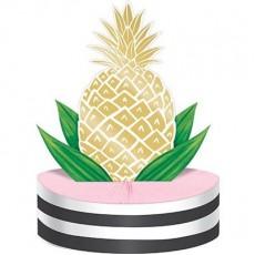 Bridal Shower Pineapple Wedding Honeycomb Centrepiece 30cm x 22cm