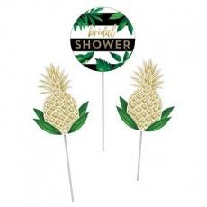 Bridal Shower Pineapple Wedding Stick Centrepieces