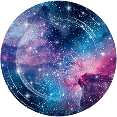 Galaxy Dinner Plates 22cm Pack of 8