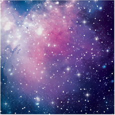 Galaxy Lunch Napkins Pack of 16