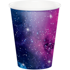 Galaxy Paper Cups 266ml Pack of 8