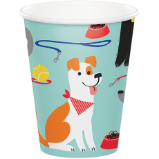 Dog Paper Cups