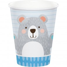 1st Birthday Bear Paper Cups