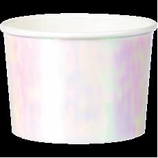 Iridescent Foil Treat Paper Cups
