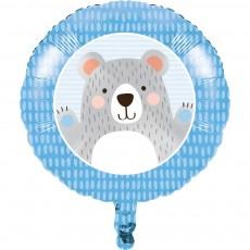1st Birthday Bear Party Decorations - Foil Balloon