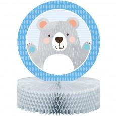 1st Birthday Bear Party Decorations - Centrepiece Honeycomb