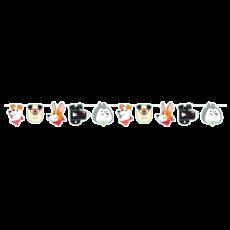 Dog Banner 15cm x 1.92m