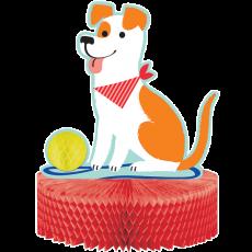 Dog Honeycomb Centrepiece 30cm x 23cm