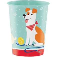 Dog Keepsake Souvenir Favour Plastic Cup
