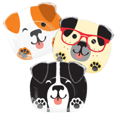 Dog Shaped Dinner Plates Pack of 8