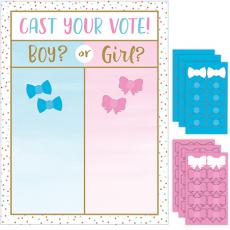 Gender Reveal Cast Your Vote Party Game 61cm x 45cm