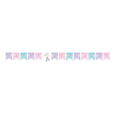 Mermaid Shine Iridescent Banner