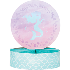 Mermaid Shine Iridescent Honeycomb Centrepiece