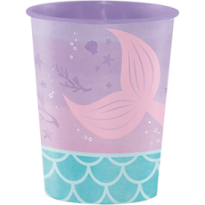 Mermaid Shine Iridescent Keepsake Souvenir Favour Misc Cup