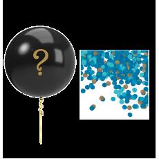 Gender Reveal Blue Balloon Kit Latex Balloon