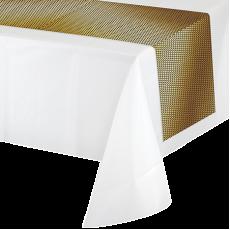 Gold Black & Foil Decor Table Runner