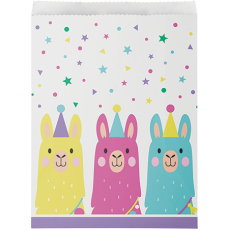 Llama Fun Party Treat Paper Favour Bags