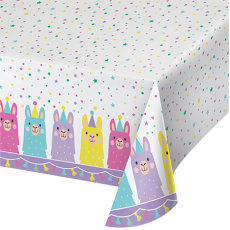 Llama Fun Party Table Cover