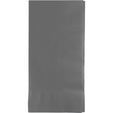Grey Glamour Gray  Dinner Napkins