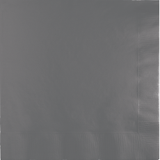 Grey Party Supplies - Lunch Napkins