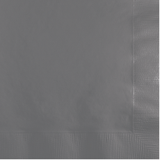 Grey Glamour Gray  Beverage Napkins