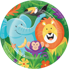Jungle Safari Dinner Plates