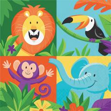 Jungle Safari Lunch Napkins Pack of 16