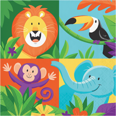 Jungle Safari Lunch Napkins
