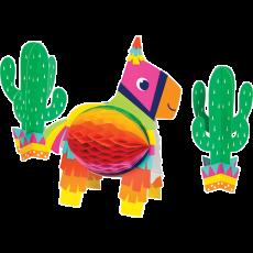 Fiesta Fun 3D Honeycomb Centrepiece