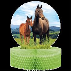 Horse and Pony Honeycomb Centrepiece