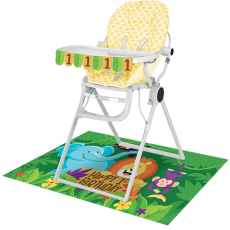 Jungle Safari High Chair Decorating Kit