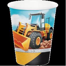 Big Dig Construction Paper Cups