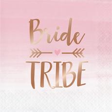 Rose Gold Bridal Shower Rose All Day Bride Tribe Lunch Napkins Pack of 16