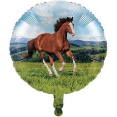 Horse and Pony Foil Balloon