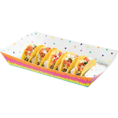Fiesta Fun Taco Divider Tray 23cm x 36cm