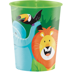 Jungle Safari Keepsake Souvenir Plastic Cup