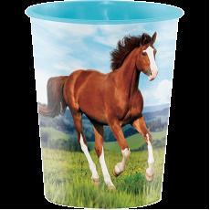 Horse and Pony Keepsake Souvenir Favour Plastic Cup 473ml