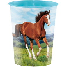 Horse and Pony Keepsake Souvenir Favour Plastic Cup