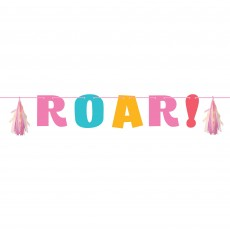 Dinosaur Girl Dino Decor Letter Banner