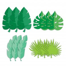 Dinosaur Boy Dino Decor Leaf Cutouts