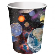 Space Blast Paper Cups