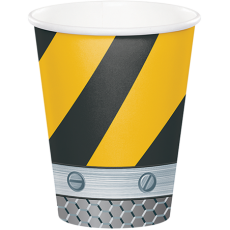Under Construction Construction Zone Paper Cups