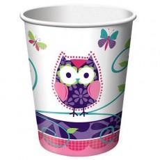 Owl Pal Paper Cups